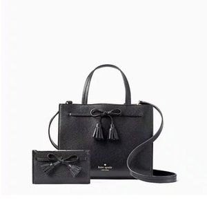 Kate Spade Hayes Small  satchel + wallet set bag